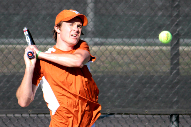 <p>Junior Daniel Whitehead is ranked 112th in the pre-season singles rankings. He is the only member of the squad ranked in singles. (File photo)</p>