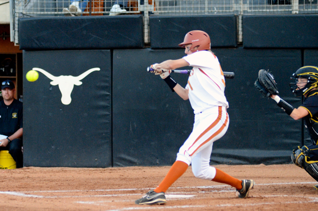 <p>Senior second baseman, the third overall pick in this year's National Pro Fastpitch League draft, leads Texas with a .408 batting average. </p>