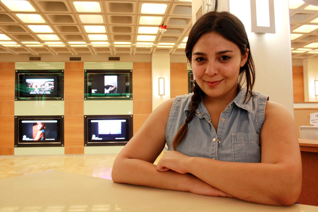 <p>Copy Desk Chief Elyana Barrera has led The Daily Texan through a tossing sea of bad commas, confusing headlines and poorly split quotes. She'll be missed for her ready wit and always helpful attitude.</p>