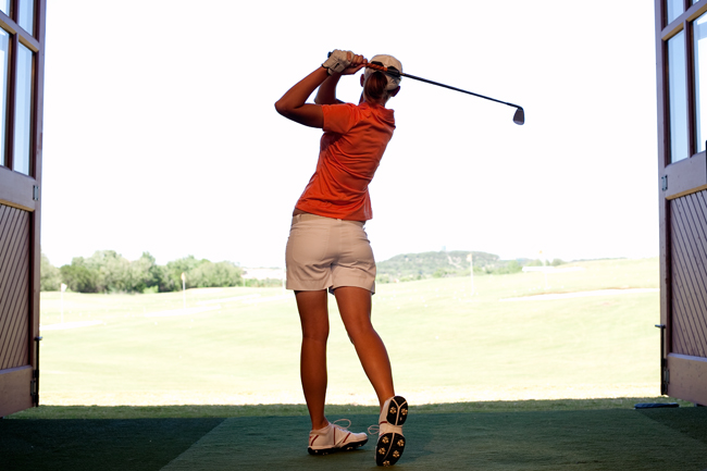 <p>Women's golf coach Martha Richards traces her success both as a player and a coach to the passage of Title IX, and believes academics opportunites have increased mightily since the amendment's inception in 1972.</p>