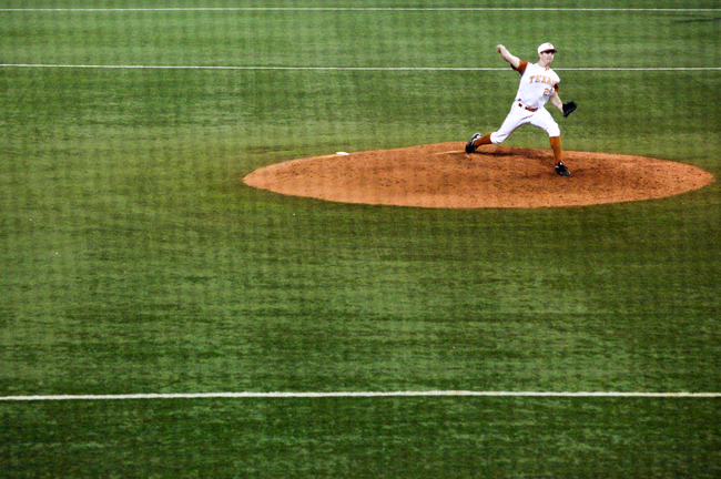 <p>Closer Corey Knebel and the rest of the Longhorns struggled early on in the season but they have won their last six games thanks to improved offense.</p>