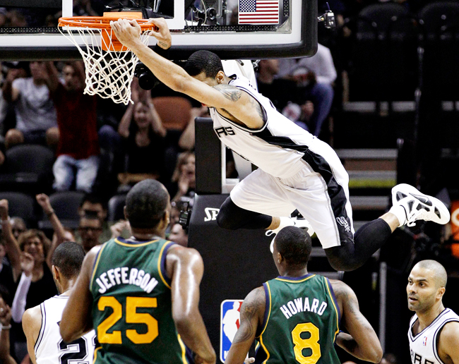 Jazz+Spurs+Basketball_AP