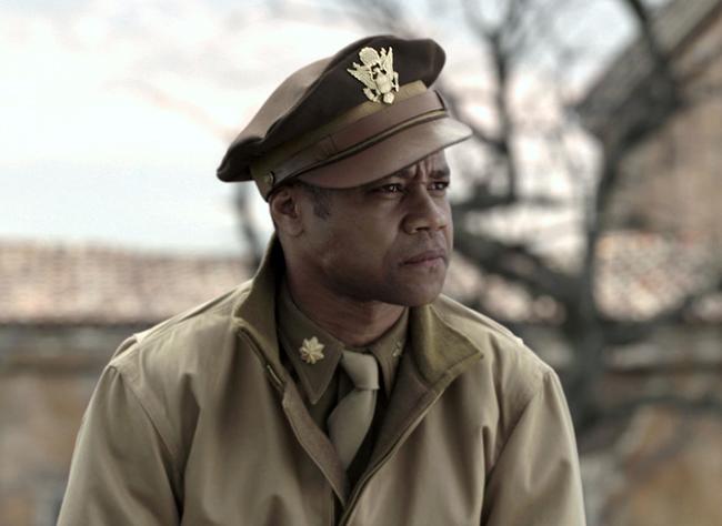 <p>Cuba Gooding Jr. portrays Major Emmanuel Stance in a scene from the film,