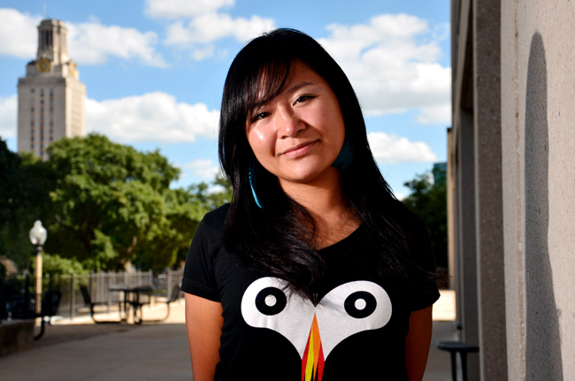 <p>UT alumna Christine Chen was commisioned by the UT Venture Labs Investment Competition to edit a 30-second commercial to be aired Thursday on the NASDAQ tower in Times Square. </p>