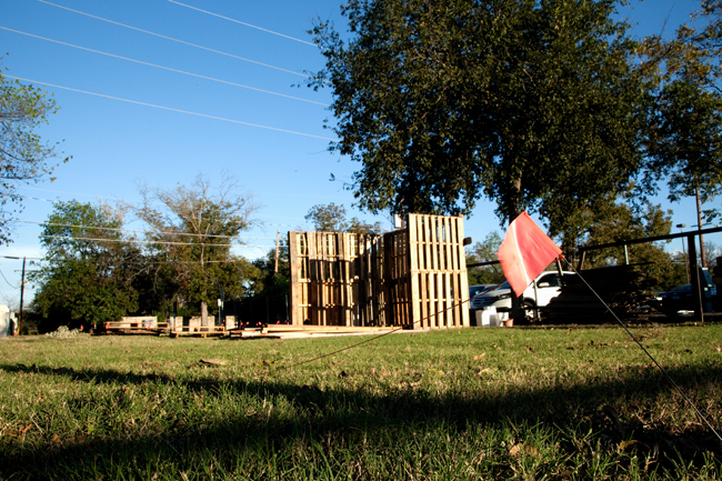 <p>Students are hoping to finish the tool shed at the UT Micro Farm at the farm's second workday this weekend from 9:30 a.m. to noon.</p>