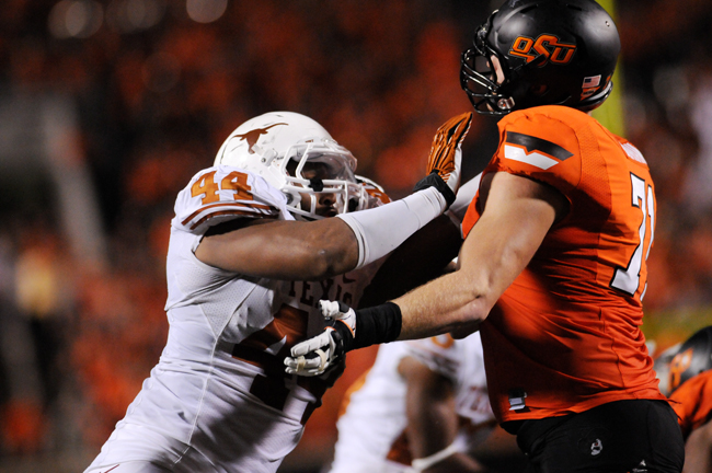 <p>Defensive end Jackson Jeffcoat is among the linemen returning for the 2013 season and will be joined by fellow returning starters as well as new offensive and defensive line recruits.</p>