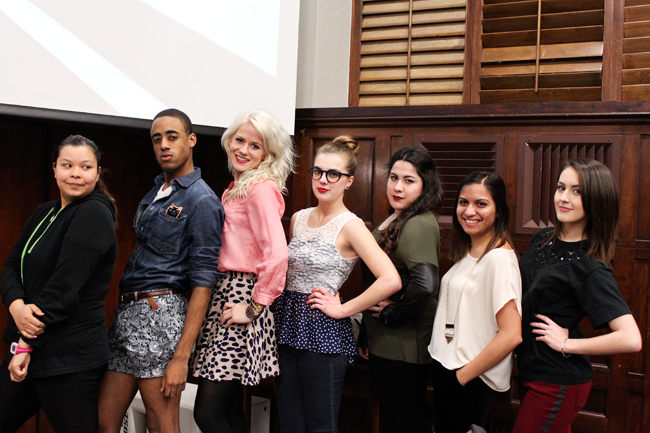 <p>Members of the University Fashion Group who attended New York fashion week shared photos and experiences with the rest of the group at their meeting Tuesday evening.</p>