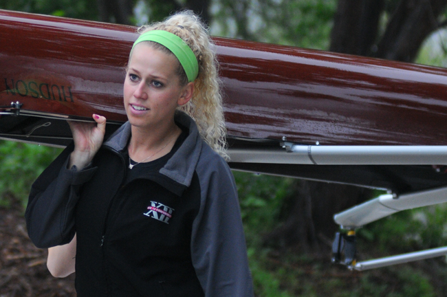 <p>Laurel McCraig has earned her stripes as a rower in her three years at Texas, claiming three awards for excellence last year.</p>
