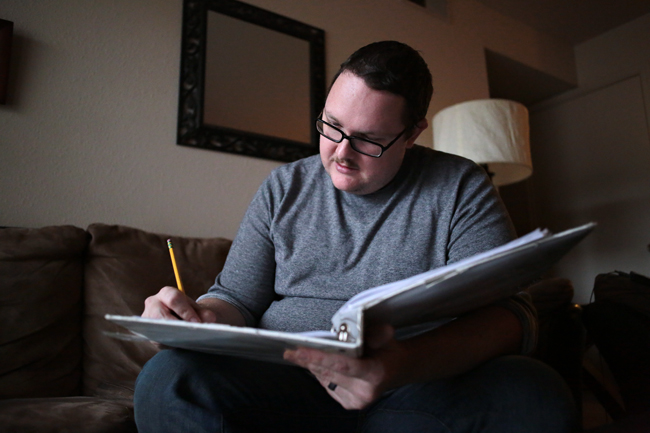 """<p>Michael Floyd, an Austin-based actor, director, and writer, directs three short plays in Oh Dragon Theatre Company's upcoming production of """"Didn't See That Coming."""" Ten short plays will be performed this Thursday, Friday, and Saturday/</p>"""