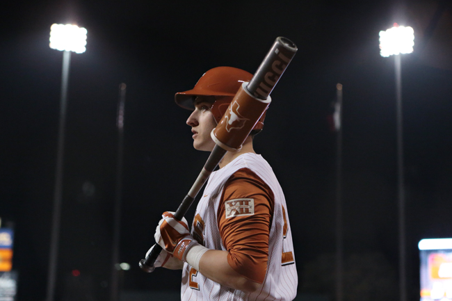 <p>Senior outfielder Mark Payton has carried the Texas offense thorugh the first five games of this season, hitting .524 with four RBIs.</p>