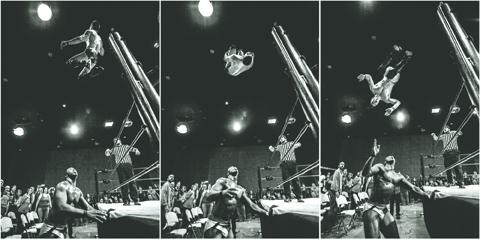 Wrestling_ACH_v_Guevara_Triptych_Joel_Loechman