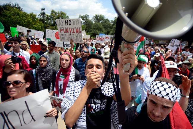 2014-08-03_Gaza_protest_Charlie