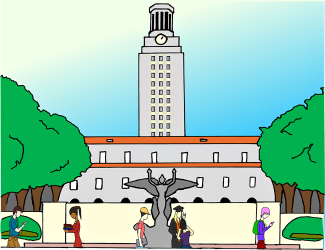 0217_RodolfoSuarez_StudentsOnCampusIllo