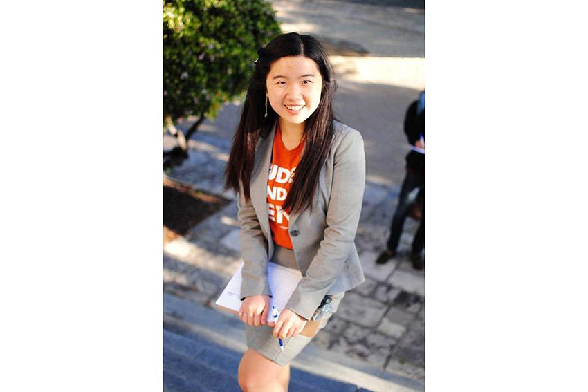 Xinyi Wang courtesy