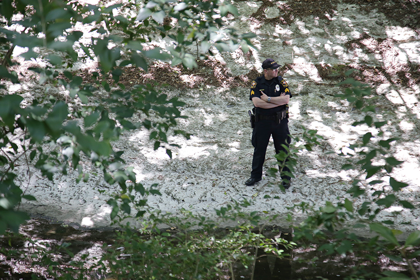 2016-04-06_Creek_crime_scene_Homicide_Marshall