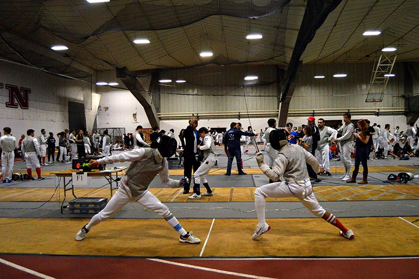 Fencing+court+UT+Fencing+CLub