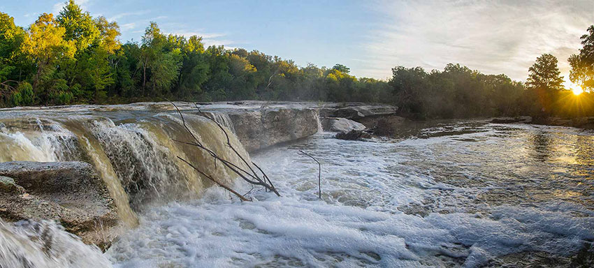 mckinney falls courtesy of Texas Parks & Wildlife
