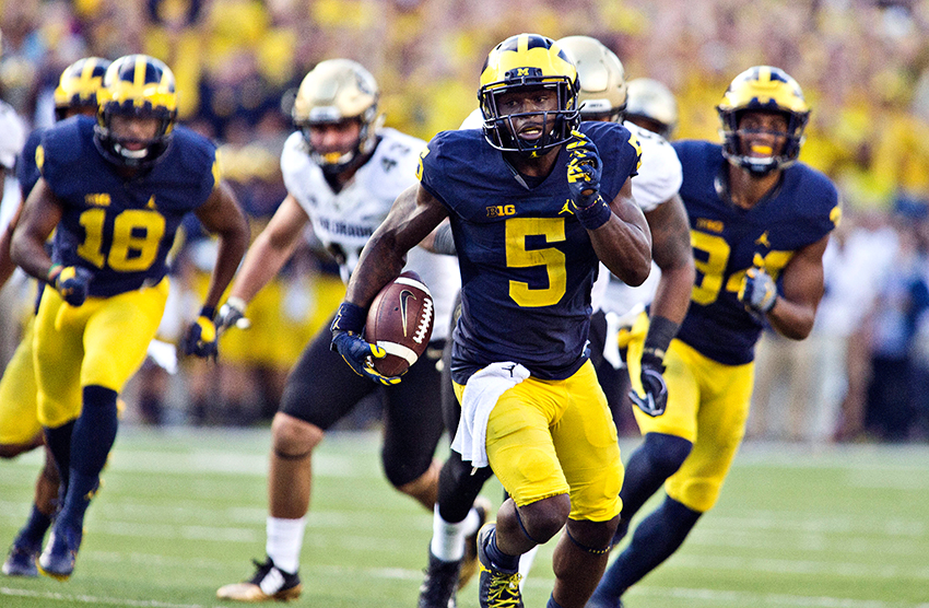 Jabrill+Peppers+tony+ding+ap+photo
