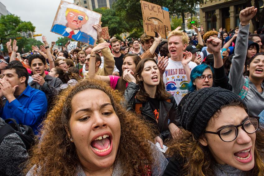 2016-11-09_AntiTrumpProtest_Gabriel