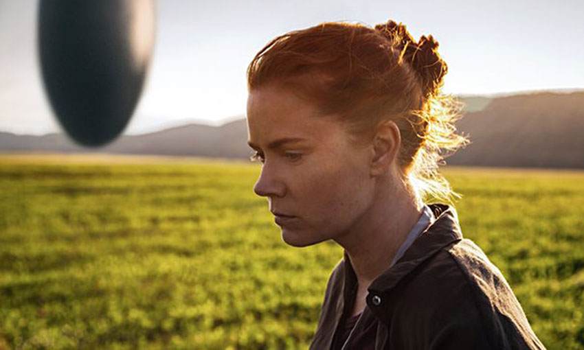 arrival courtesy of paramount