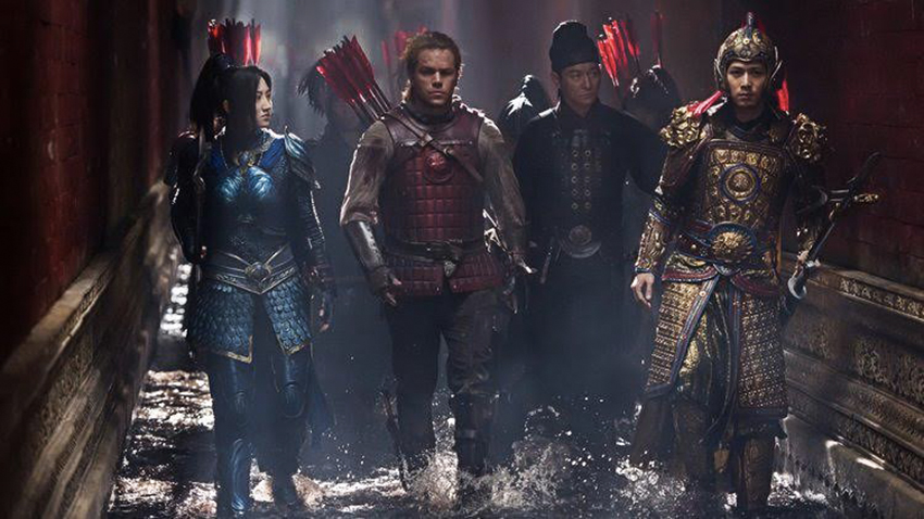 great wall_courtesy of- Legendary Entertainment, China Film Group Corporation, Atlas Entertainment