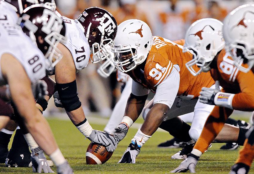 Trent2010-11-25_UT_vs_Texas_A&M_Tamir