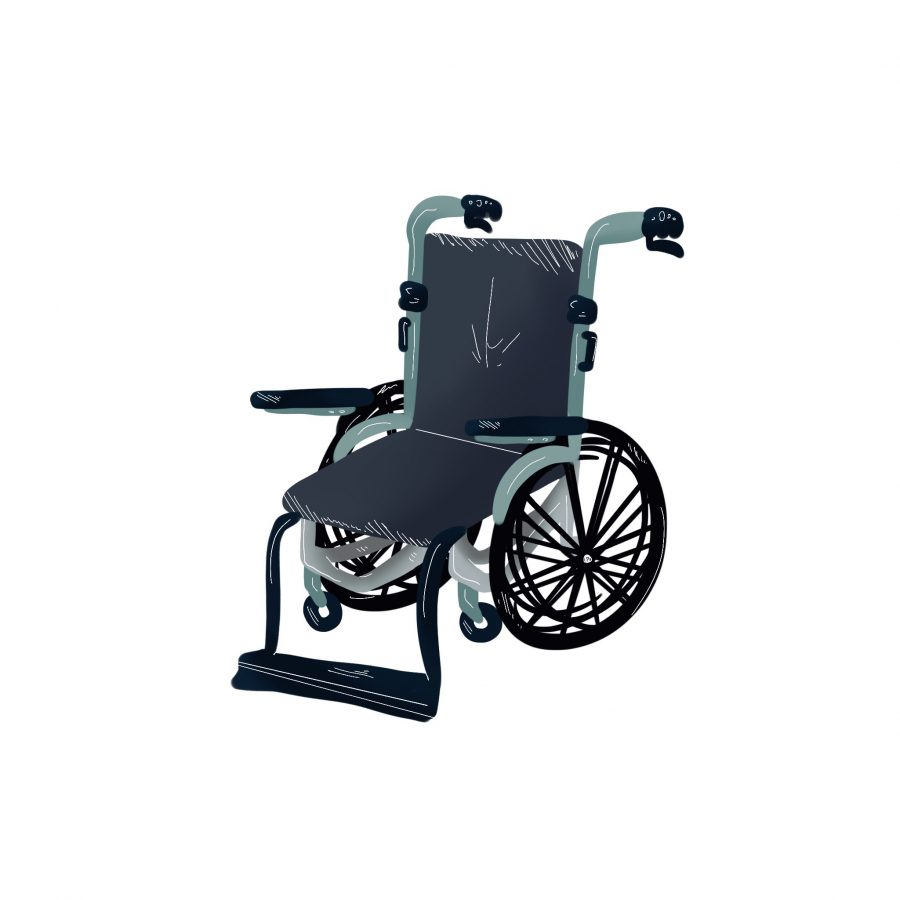 wheelchair illo