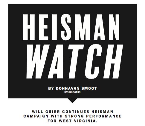 heisman watch week 2