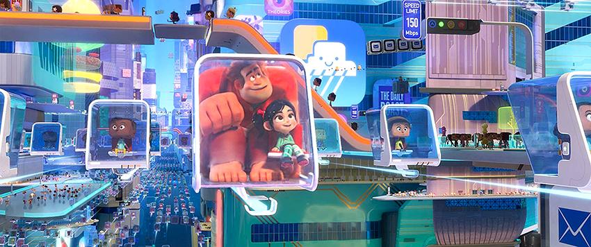 wreck it ralph 2 review Courtesy of Walt Disney Animation Studios