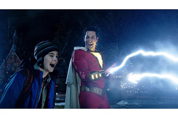Shazam courtesy Warner Bros Studios