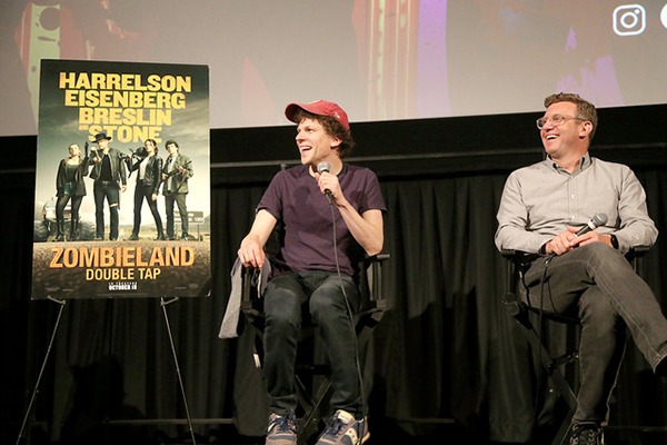 Zombieland interview_courtesy of Gary Miller