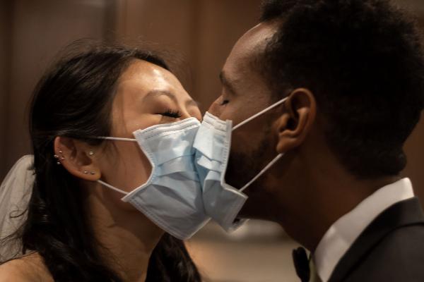 pandemic marriages courtesy of Amanda Gelalecha