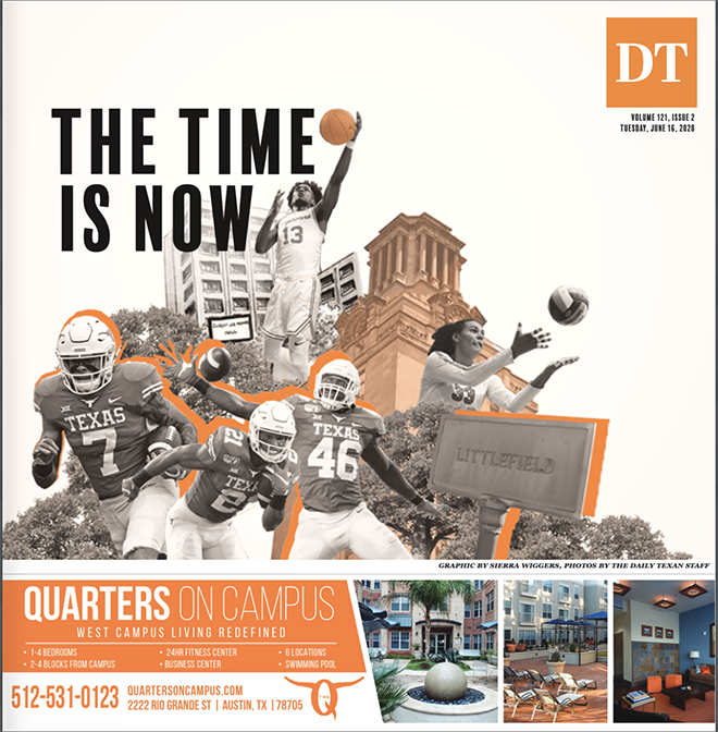 The+Daily+Texan+Cover+June+16%2C+2020
