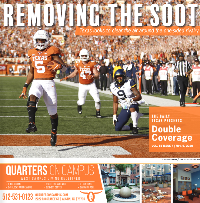 The+Daily+Texan+Double+Coverage+newspaper+November+6%2C+2020.