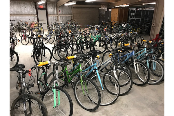 Surplus Bikes_Courtesy of Parking and Transportation Services