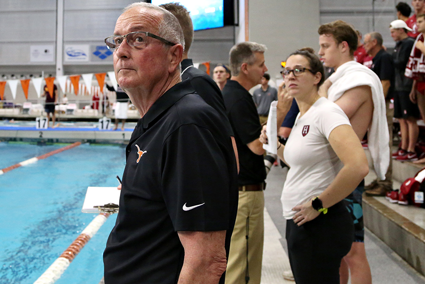 Texas head swimming coach Eddie Reese retires after 15th national championship