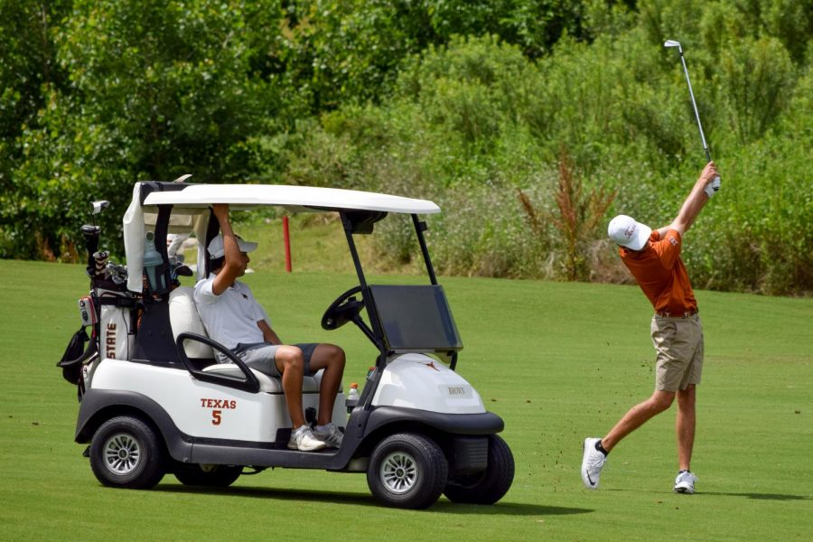 Texas+men%E2%80%99s+golf+collapse+after+leading+first+two+rounds%2C+finish+third+at+Aggie+Invitational