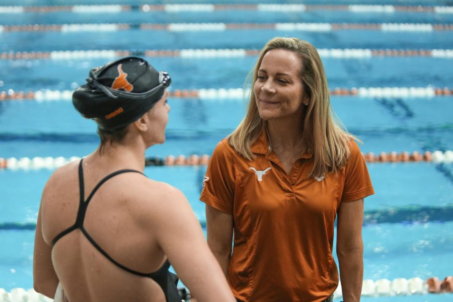 Capitani reflects on the resilience of Texas women's swim and dive this season
