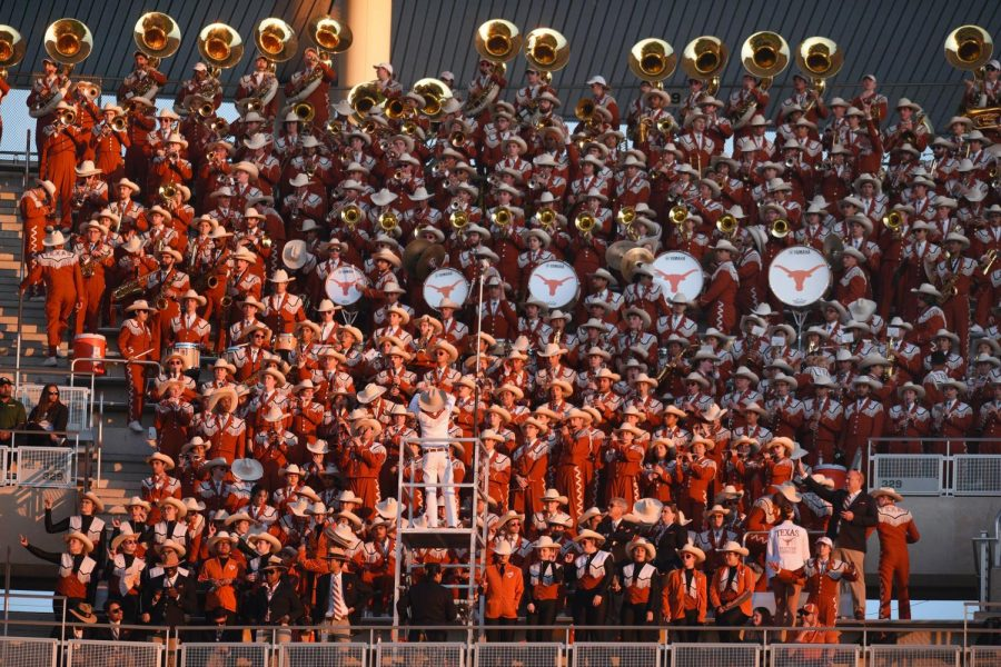 Some Longhorn Band members say they are left in the dark about 'The Eyes of Texas'