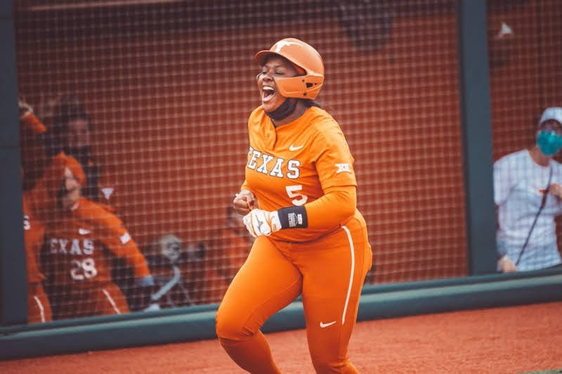 Texas softball trumps Texas Tech for second win in series, conference play