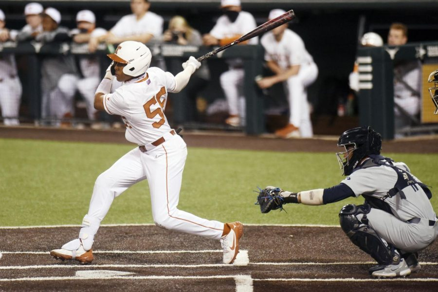 Longhorns+down+Jayhawks+11-2%2C+secure+first+conference+sweep+of+season