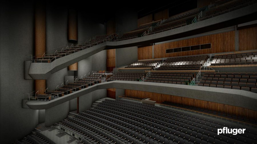 Bass Concert Hall undergoes $3 million renovations