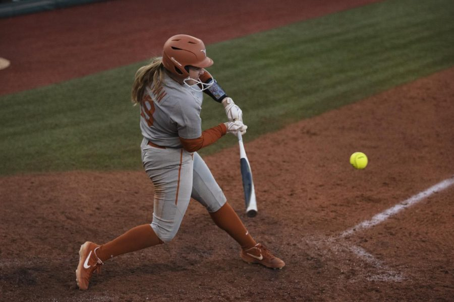 Texas softball offense dominates UT-Arlington with 12-0 run-rule victory