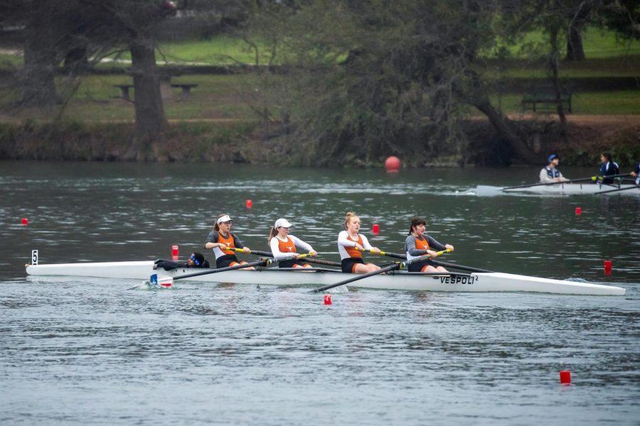 Texas rowing dominates the Big 12 Championship