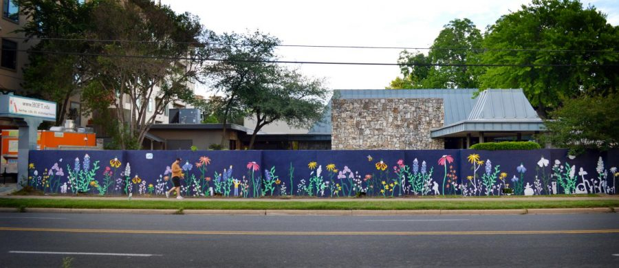 Creativity Blooms on HOFT Institute wall, first time since 1982