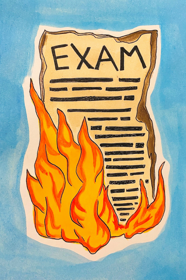 Stop administering final exams