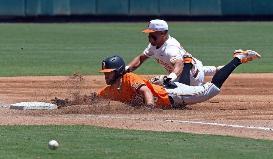 Texas eliminated from 2021 Phillips 66 Big 12 Baseball Championship