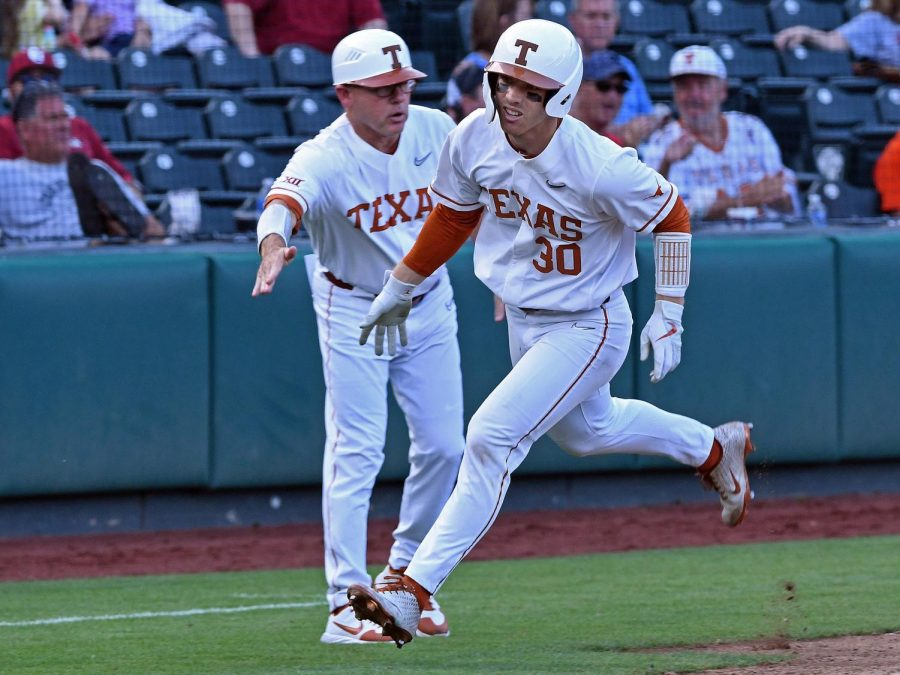 Texas falls 5-1 in opening game of 2021 Phillips 66 Big 12 Baseball Championship