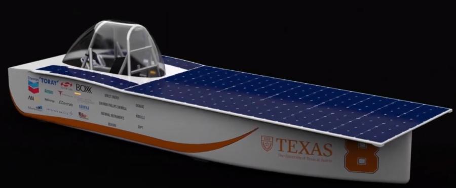 Longhorn Racing showcases new generation of solar car