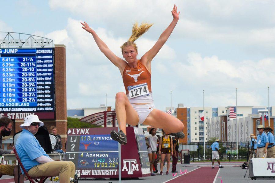 A bond, a photograph, three Latvian female athletes: Texas freshman Kristine Blazevica's track history runs deep